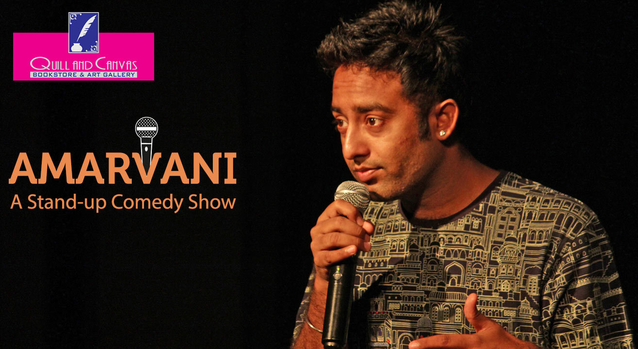 Sungard Exhibition Stand Up Comedy : Book tickets to amarvani a stand up comedy show