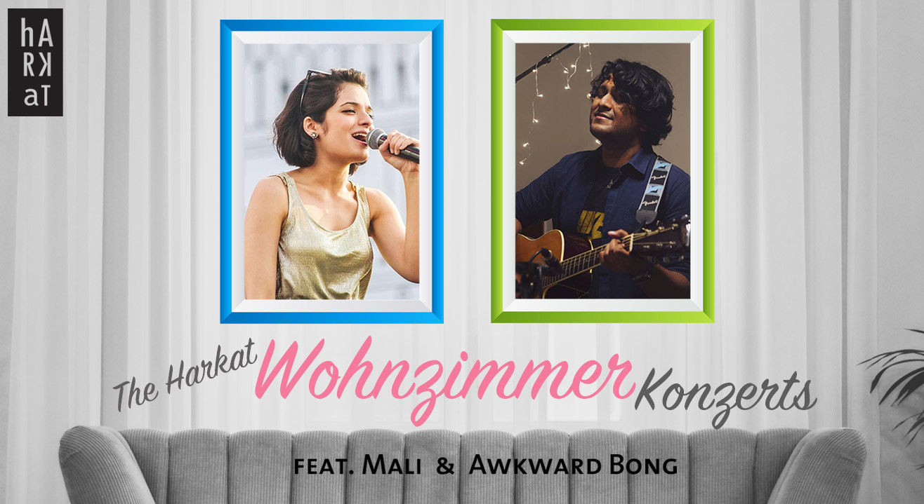 Book tickets to harkat wohnzimmer konzert feat mali for Wohnzimmer konzert