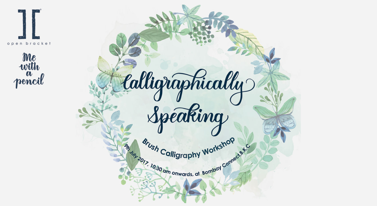 Book tickets to calligraphically speaking a brush