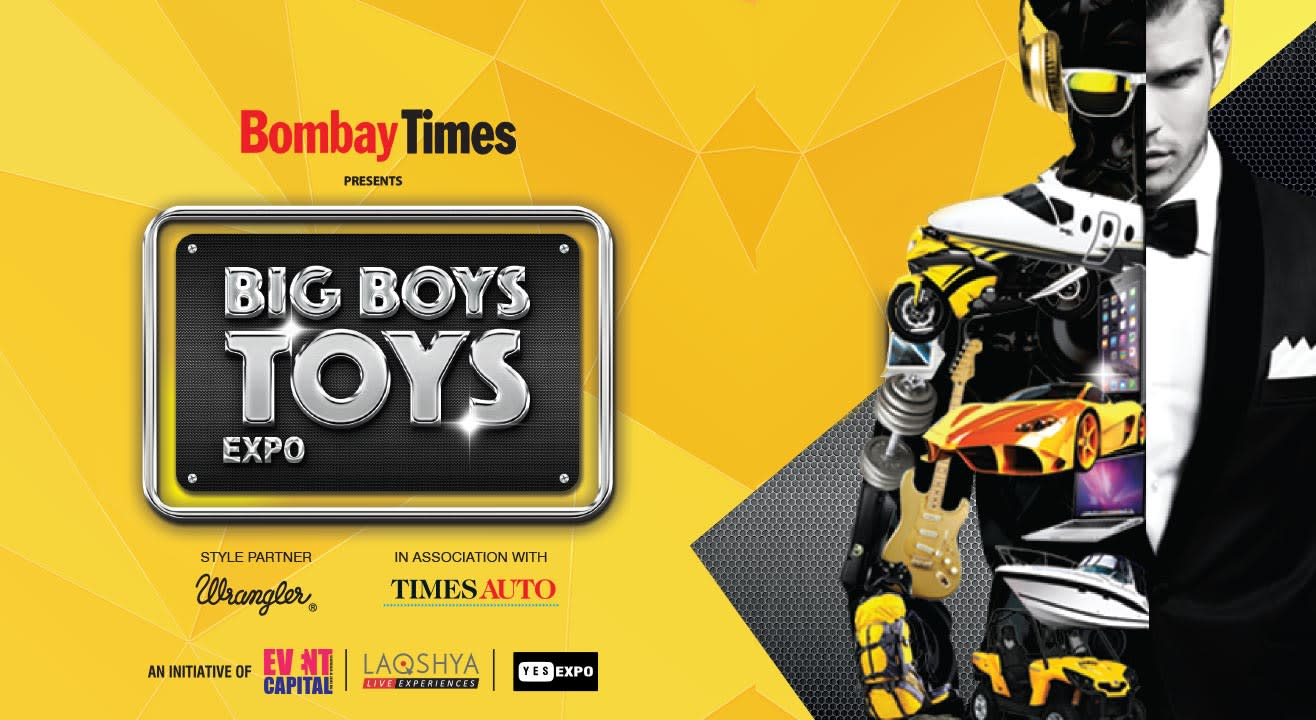 Boys Toys Big Game : Big boys toys expo