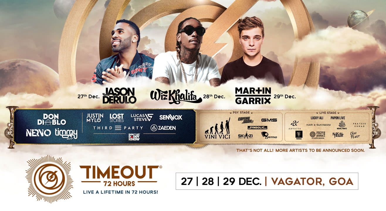 Book tickets to TIMEOUT 72 ft  Wiz Khalifa, Martin Garrix