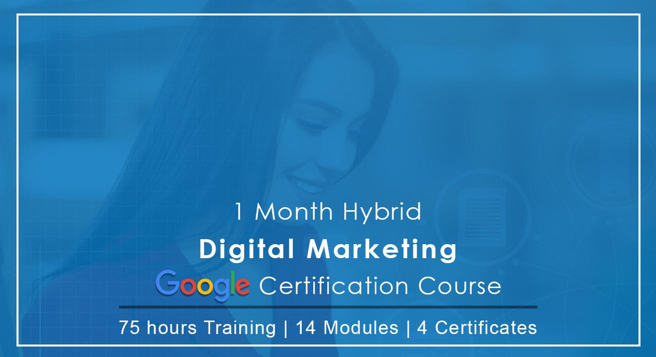 Book Tickets To Digital Marketing Google Certification Weekend Program