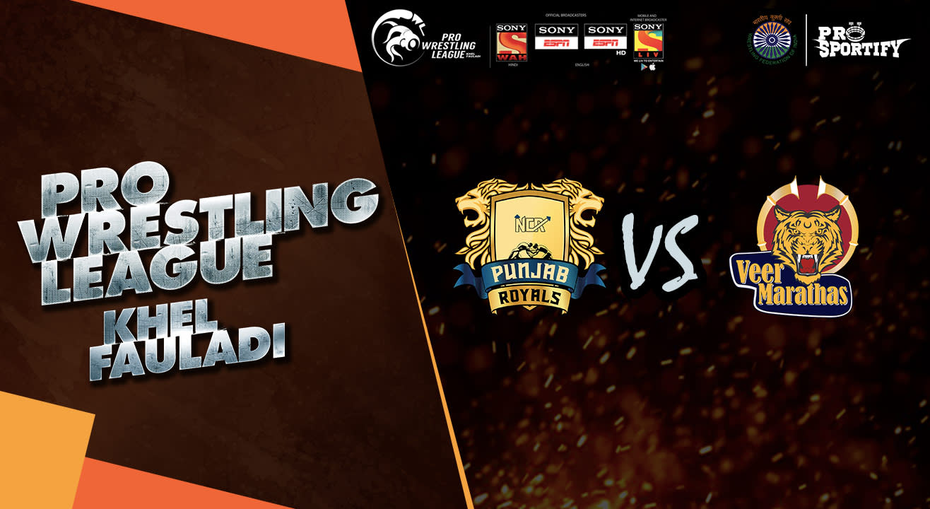 Book tickets to Pro Wrestling League: Punjab Royals vs Veer
