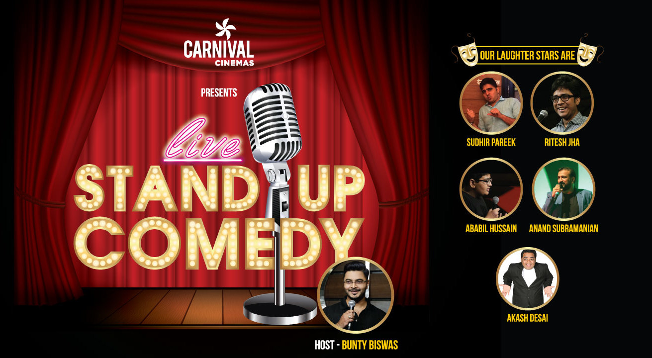 Sungard Exhibition Stand Up Comedy : Stand up comedy show