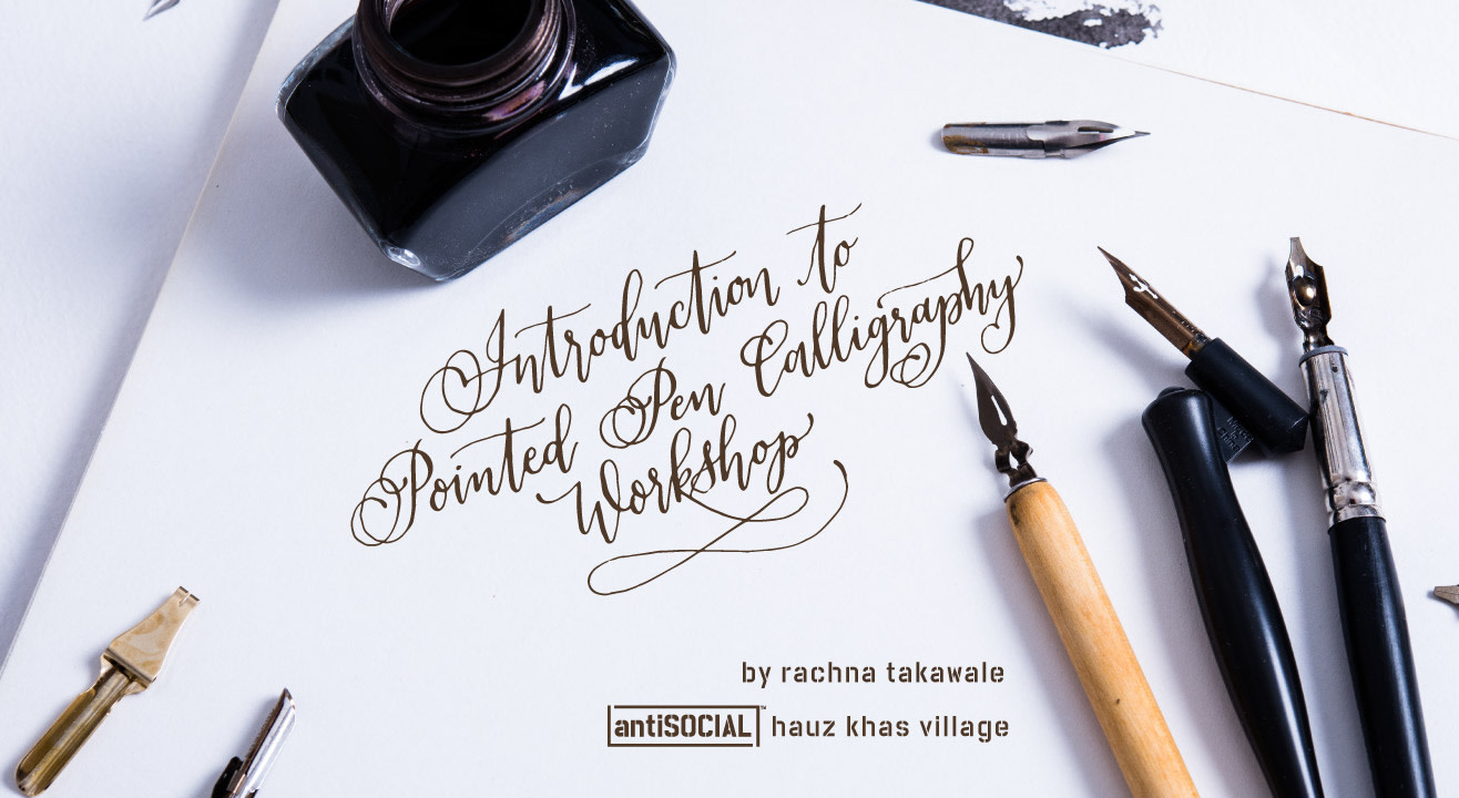 Book Tickets To Introduction To Pointed Pen Calligraphy