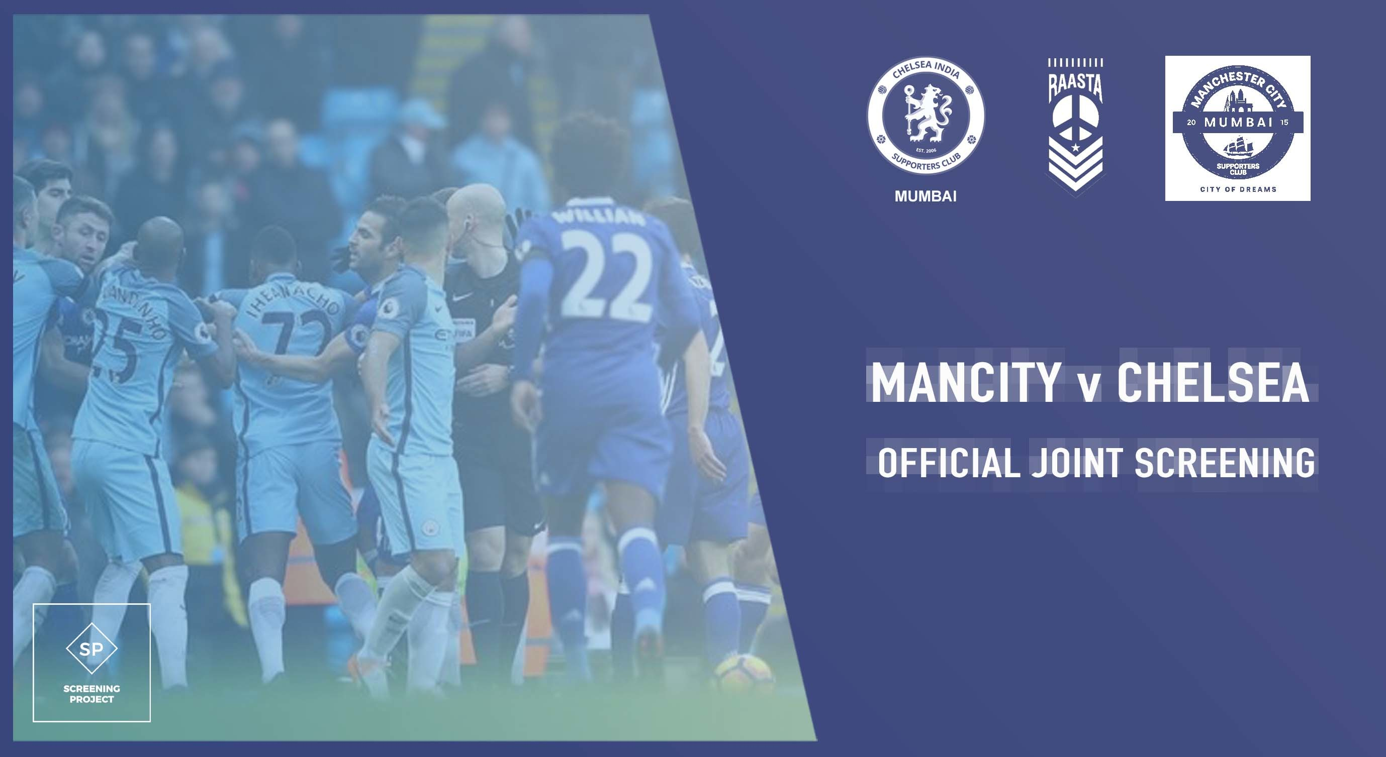 Mancity Vs Chelsea: Book Tickets To Mancity V Chelsea Official Joint Screening