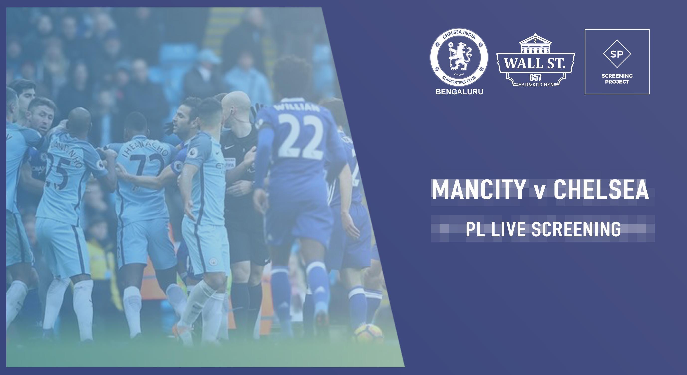 Mancity Vs Chelsea: Book Tickets To Mancity V Chelsea Official CISC Bangalore