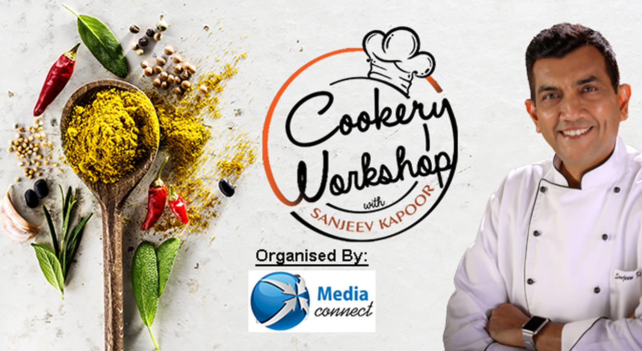 Book tickets to cookery workshop w sanjeev kapoor the ace master chef cookery workshop w sanjeev kapoor the ace master chef forumfinder Choice Image