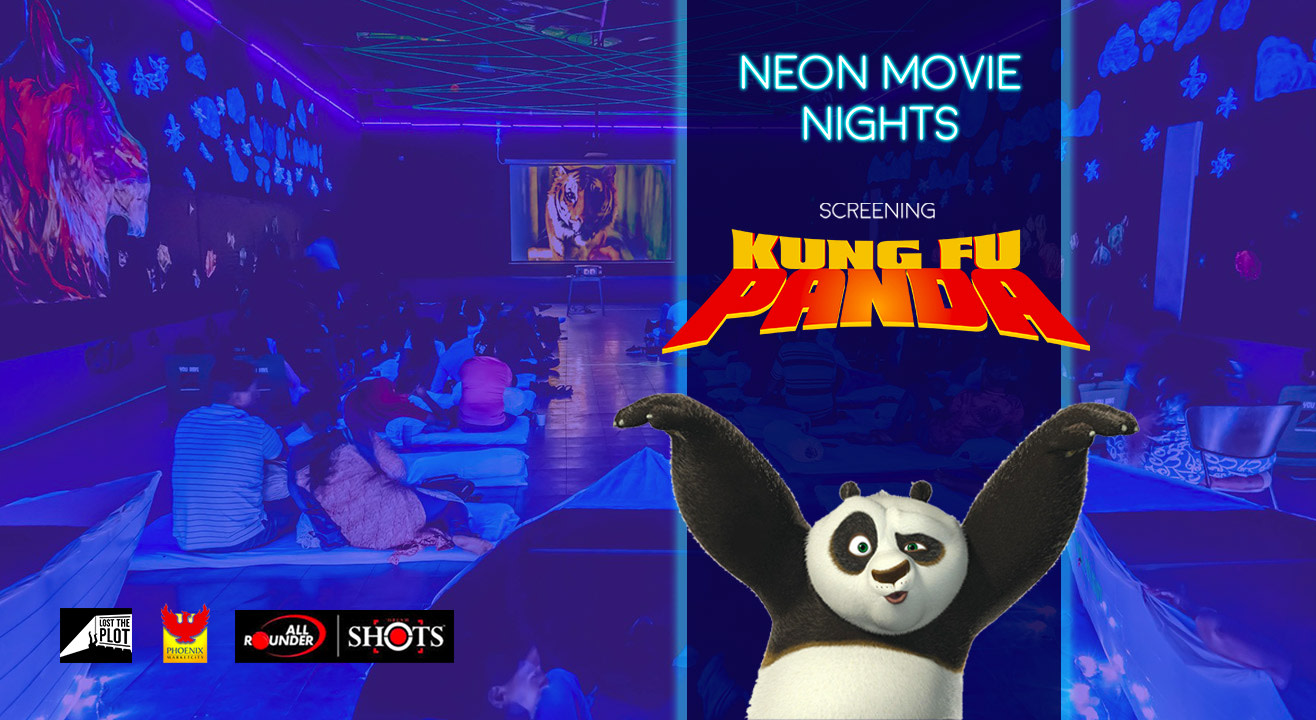 book tickets to neon movie nights by lost the plot � kung