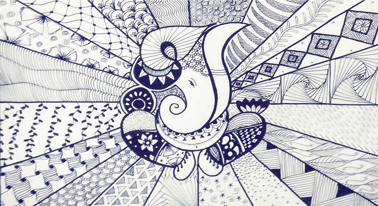 book tickets to ganesh doodle art by home is where the art is