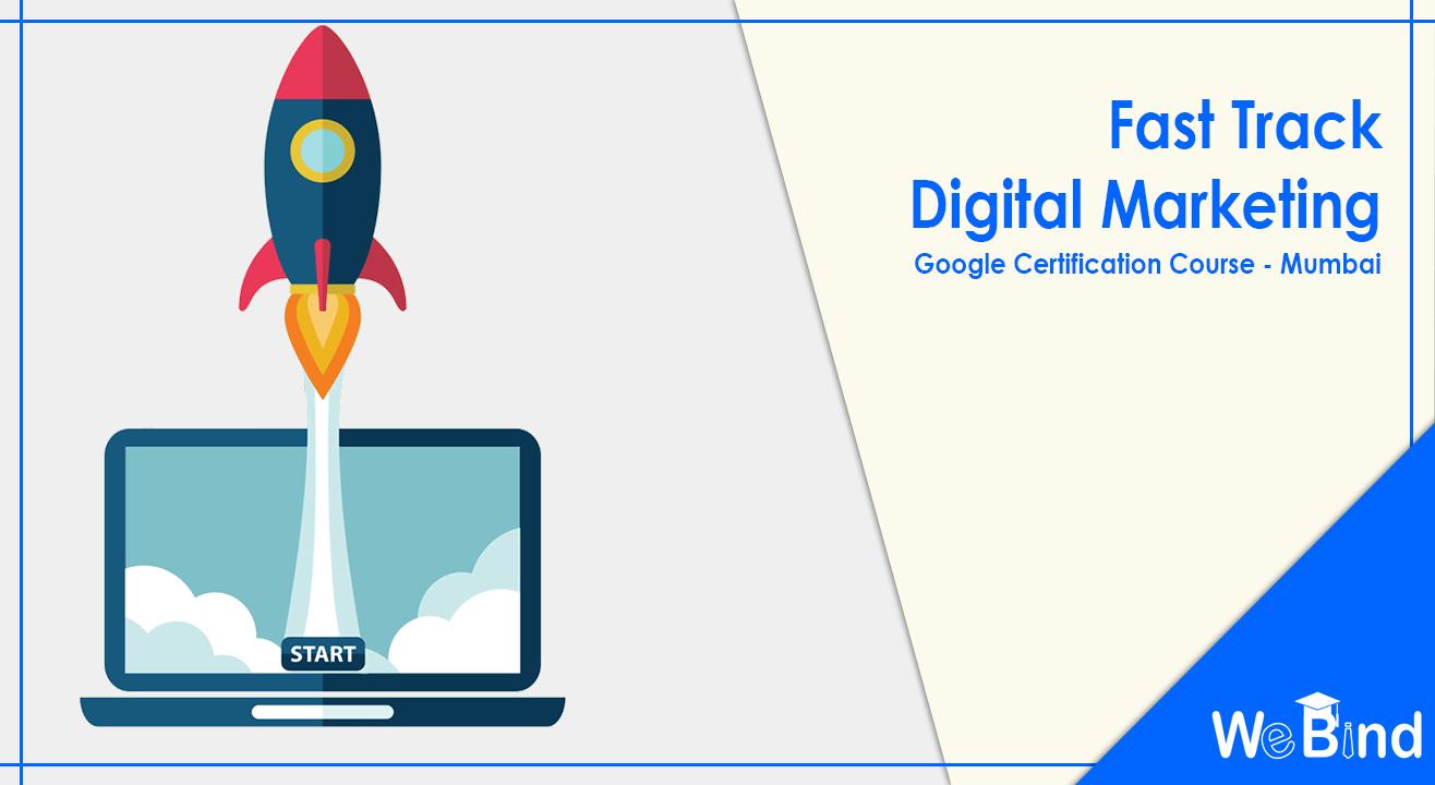 Book Tickets To Fast Track Digital Marketing Google Adwords