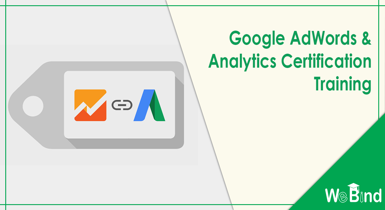 Book Tickets To Google Adwords Analytics Certification Training
