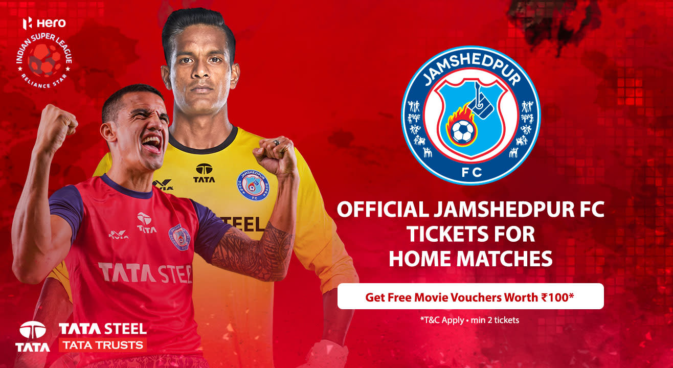 Official Ticketing Partner Jamshedpur Fc Buy Match Tickets
