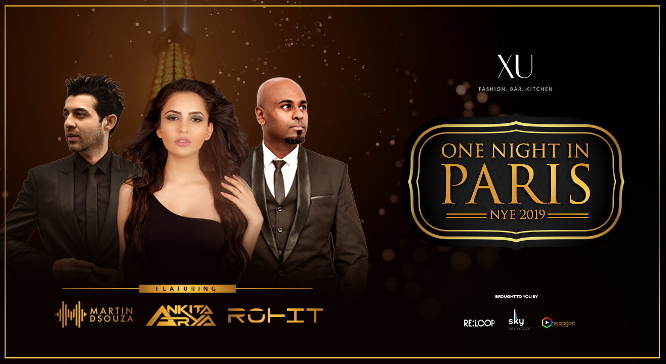 Book tickets to One Night in Paris - NYE19