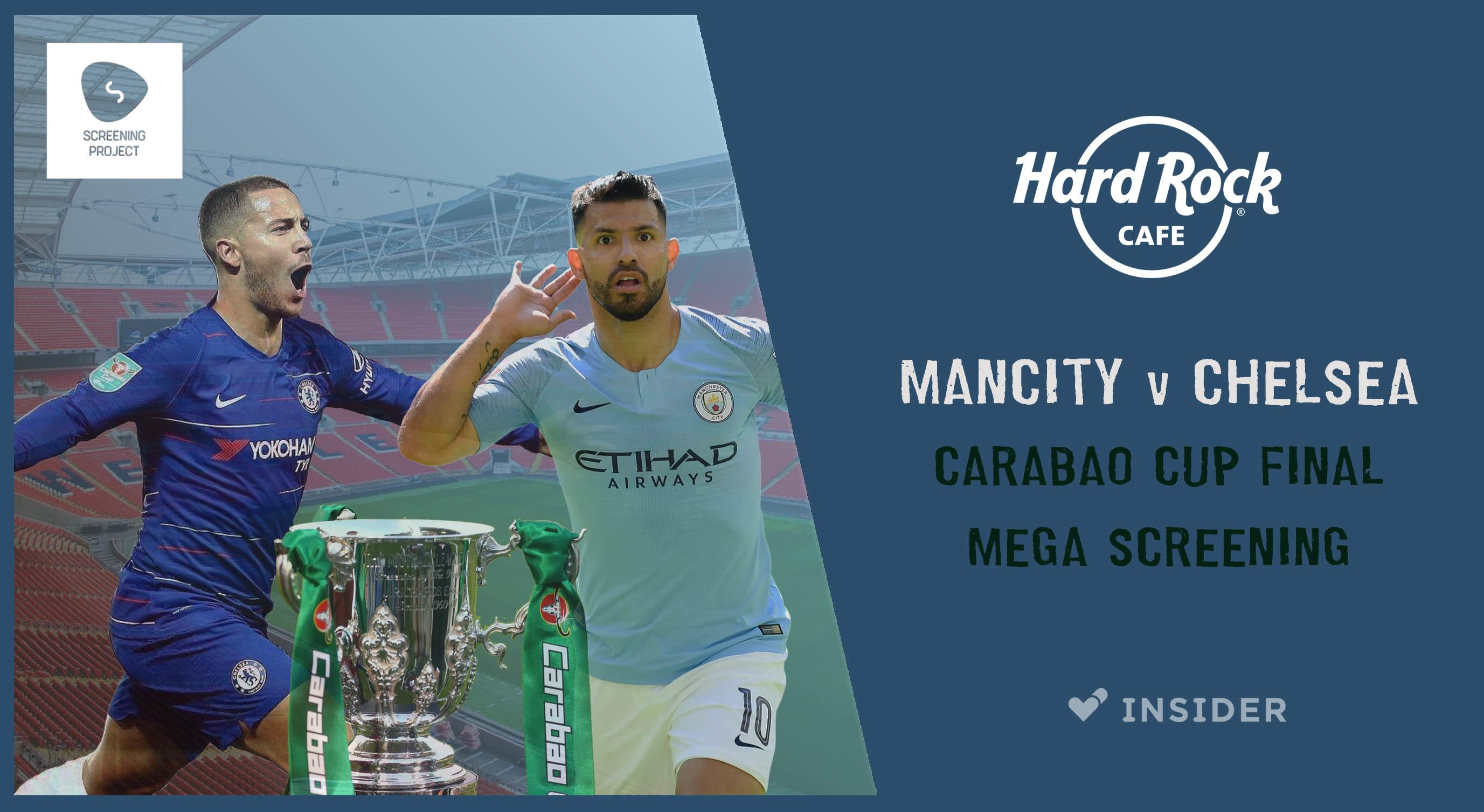 Mancity Vs Chelsea: Cup Final Mega Screening Bangalore