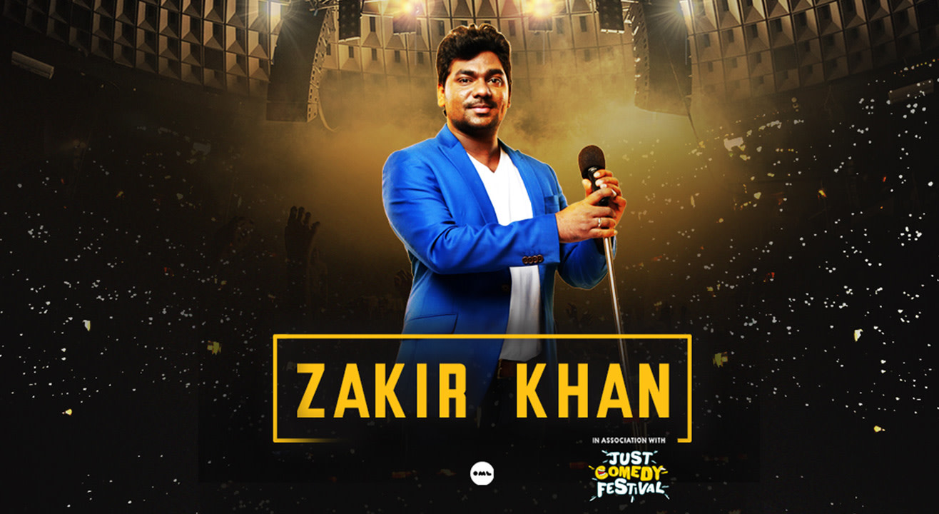 Book Zakir Khan Live Chandigarh (Aug 2019) Event Tickets Online