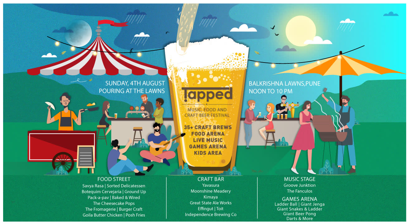 Image result for Tapped - Craft Beer, Food and Music Festival