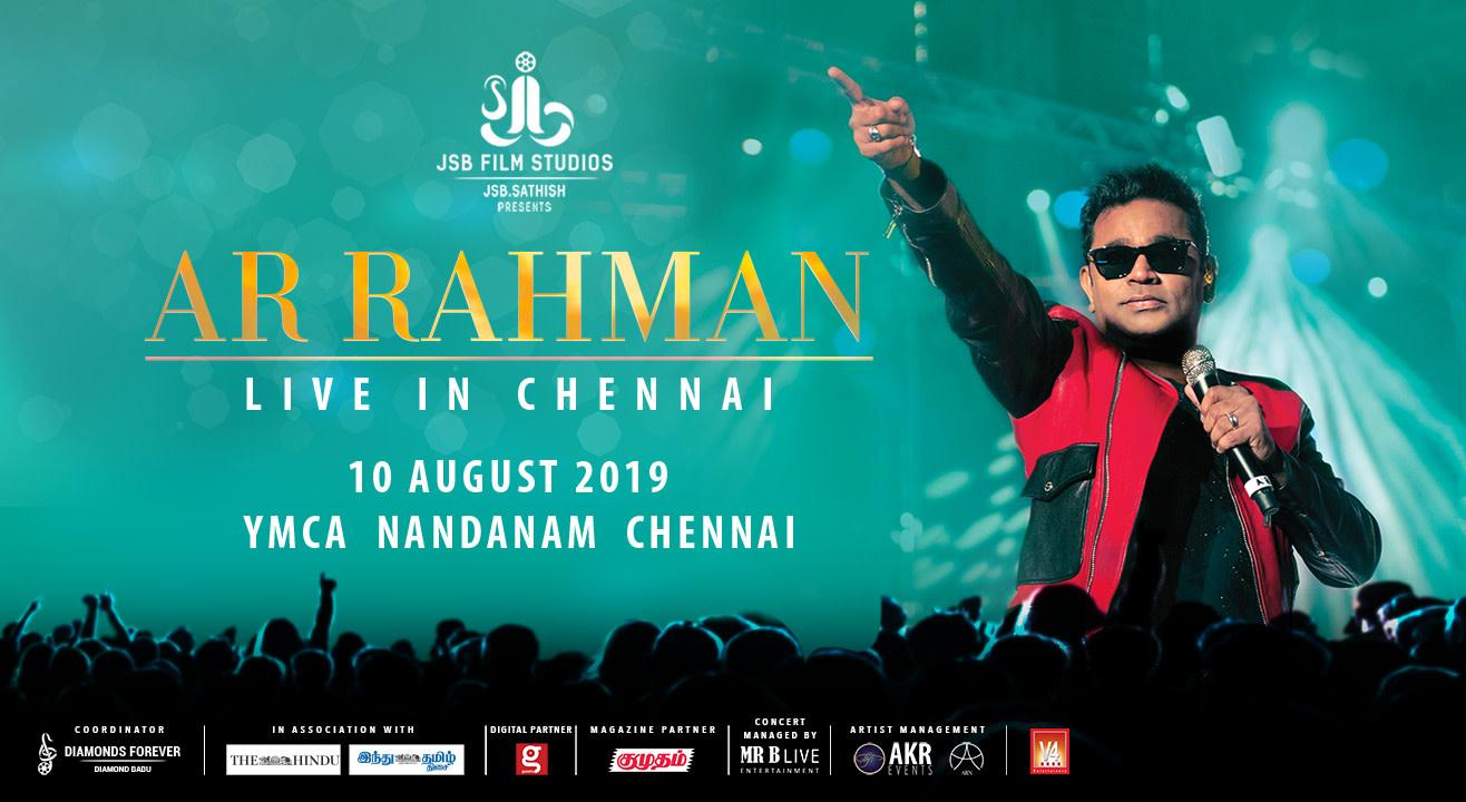 Book Ar Rahman Live In Chennai 2019 (Aug 2019) Event Tickets