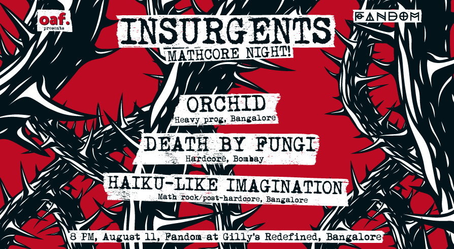 Book Insurgents Ft Haiku Like Imagination Death By Fungi Orchid