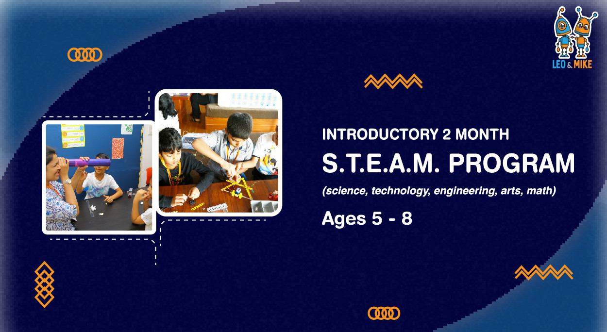Book Introductory 2 Month S T E A M Programs For Ages 5 8 At O Play