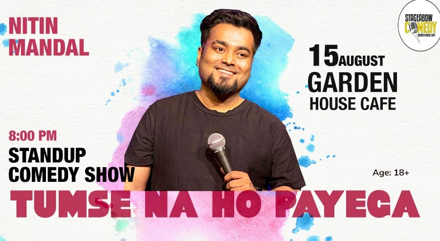 Book Tumse Na Ho Payega By Nitin Mandal (Aug 2019) Event Tickets