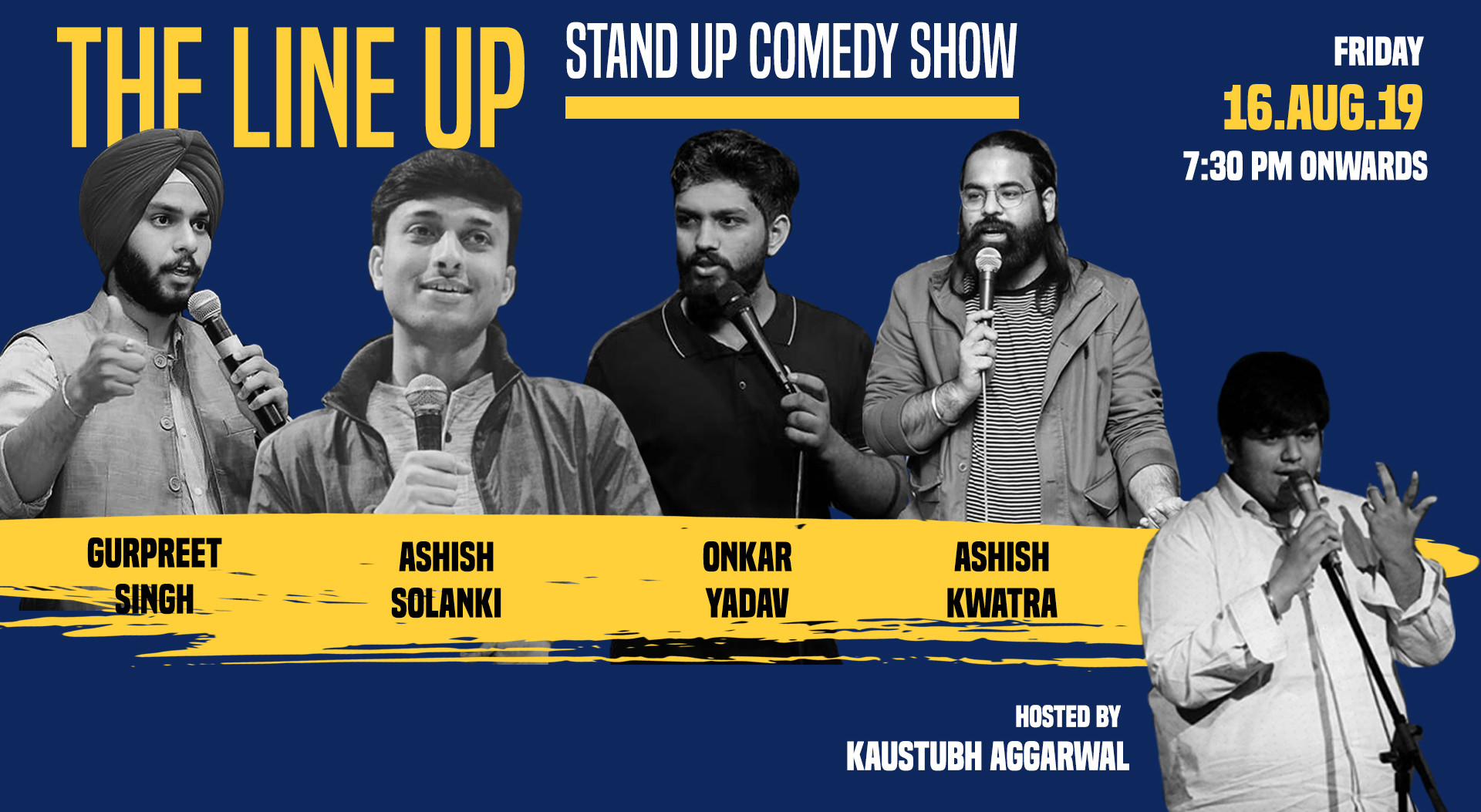 Book The Line Up A Standup Comedy Show (Aug 2019) Event Tickets