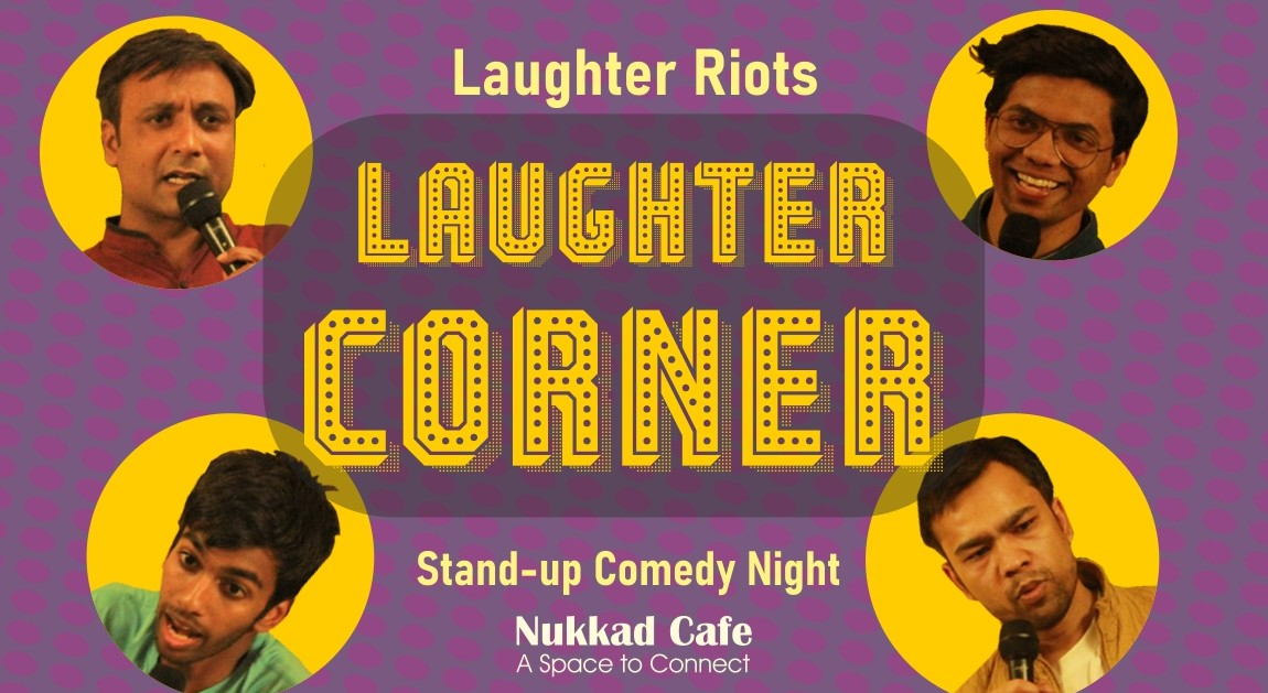 Book Stand Up Comedy Night Nukkad Cafe (Sep 2019) Event