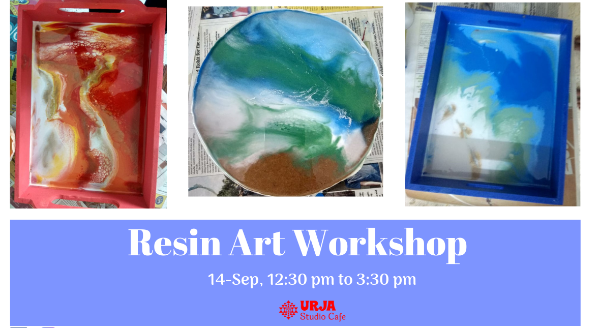 Book Resin Art Workshop (Sep 2019) Event Tickets Online