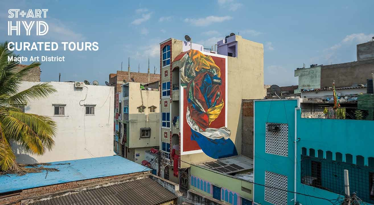 Book Curated Tour At Maqta Art District (Sep 2019) Event