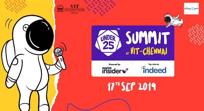 Under 25 Summit At Vit Chennai