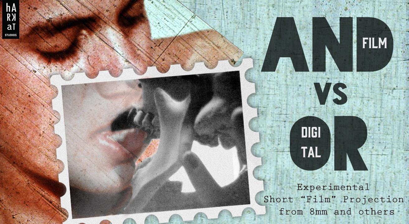 Book And Versus Or Analogue Digital Experimental Film