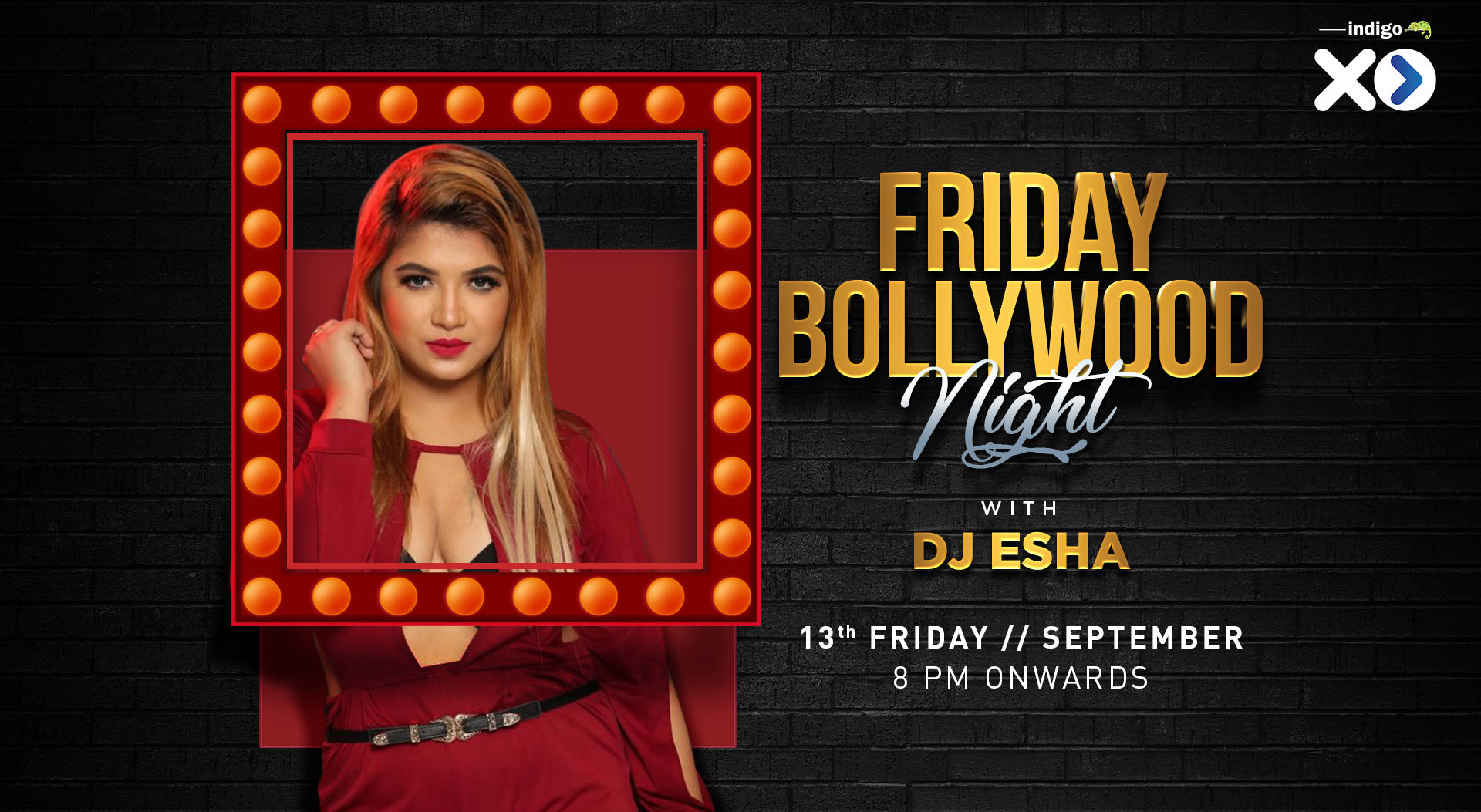 Book Bollywood Night Friday (Sep 2019) Event Tickets Online