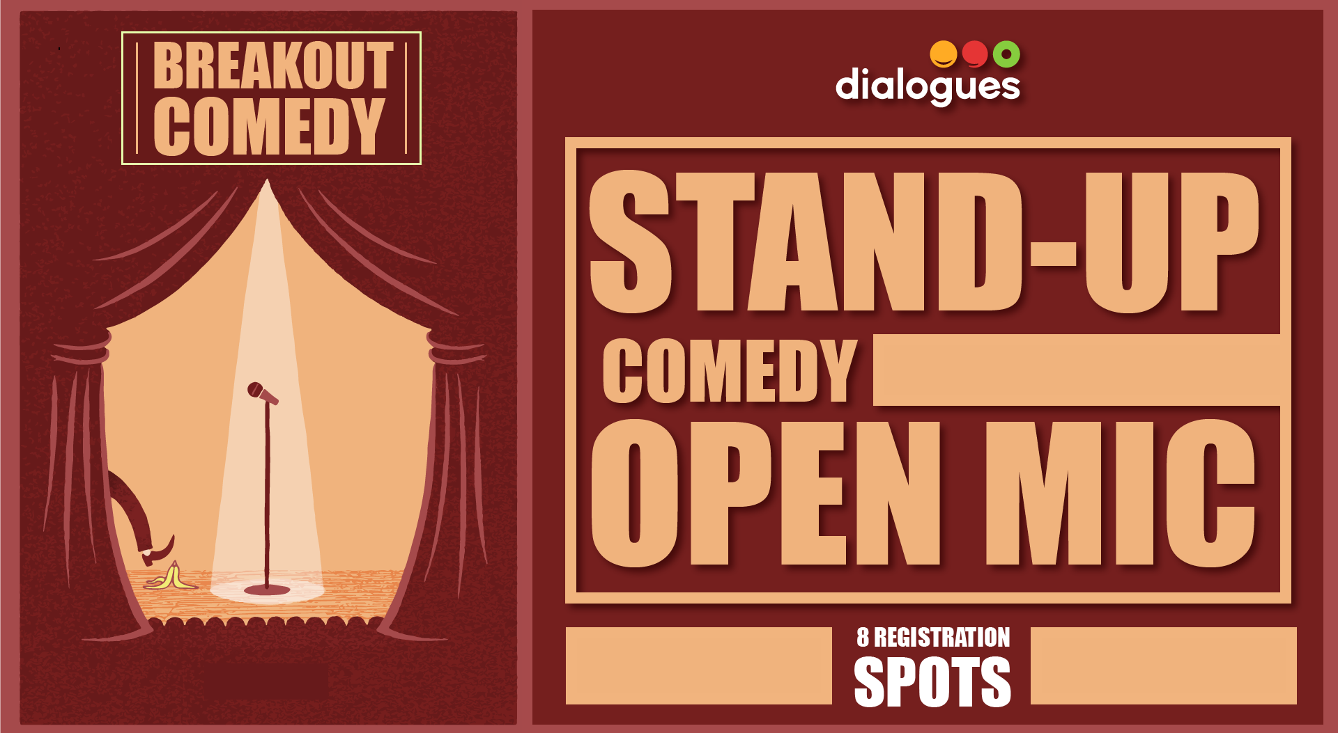 open mic stand up comedy. Black Bedroom Furniture Sets. Home Design Ideas