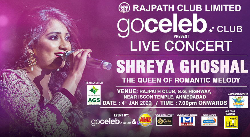 Book Shreya Ghoshal Live In Concert (Jan 2020) Event Tickets