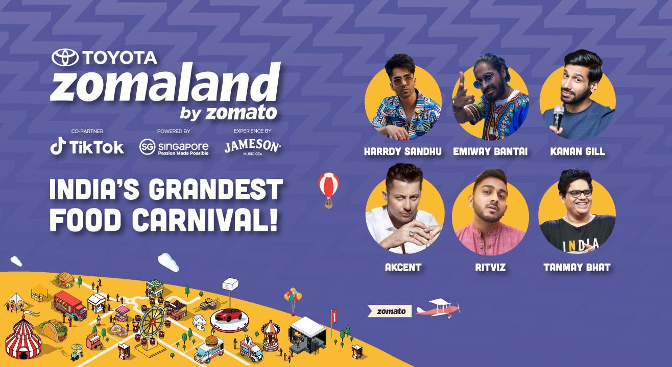 Zomaland by Zomato – Bangalore