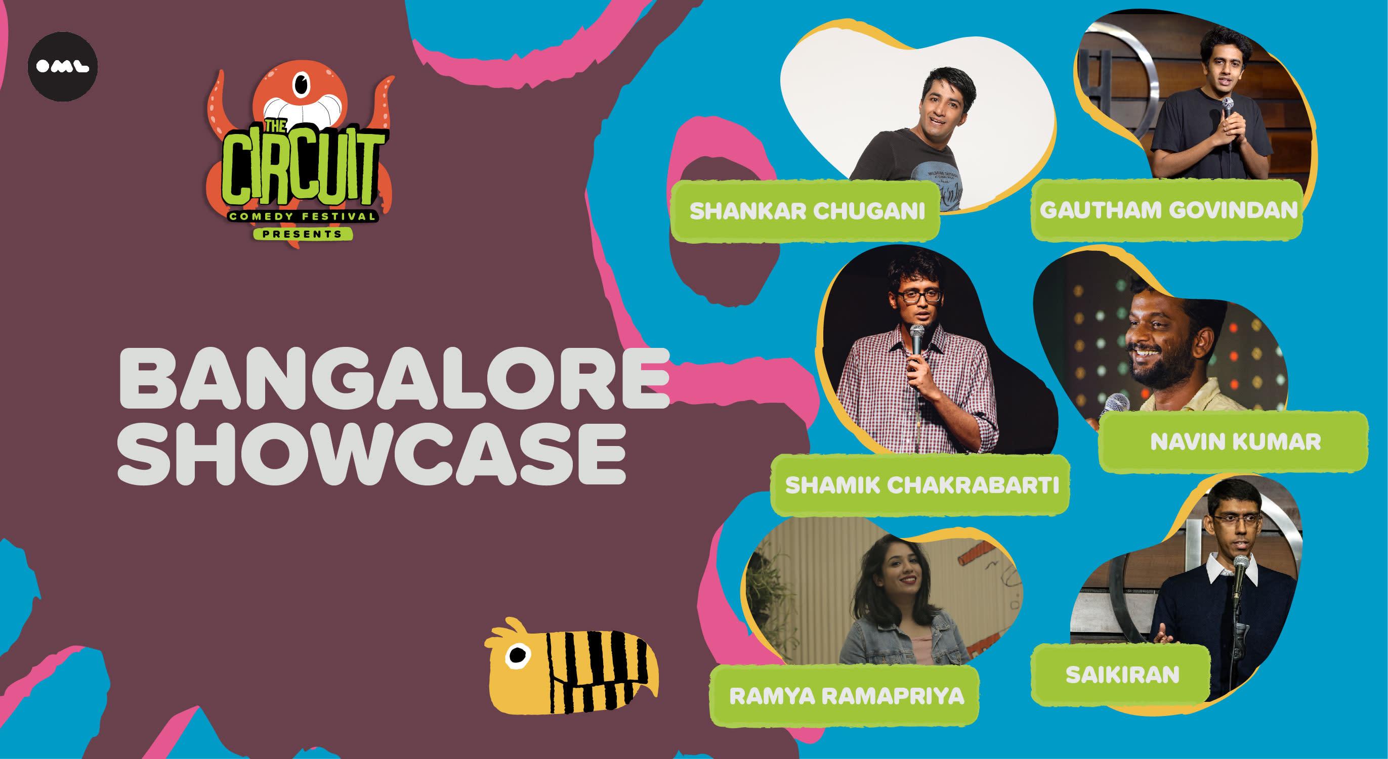 Bengaluru Showcase | The Circuit Comedy Festival, Bengaluru