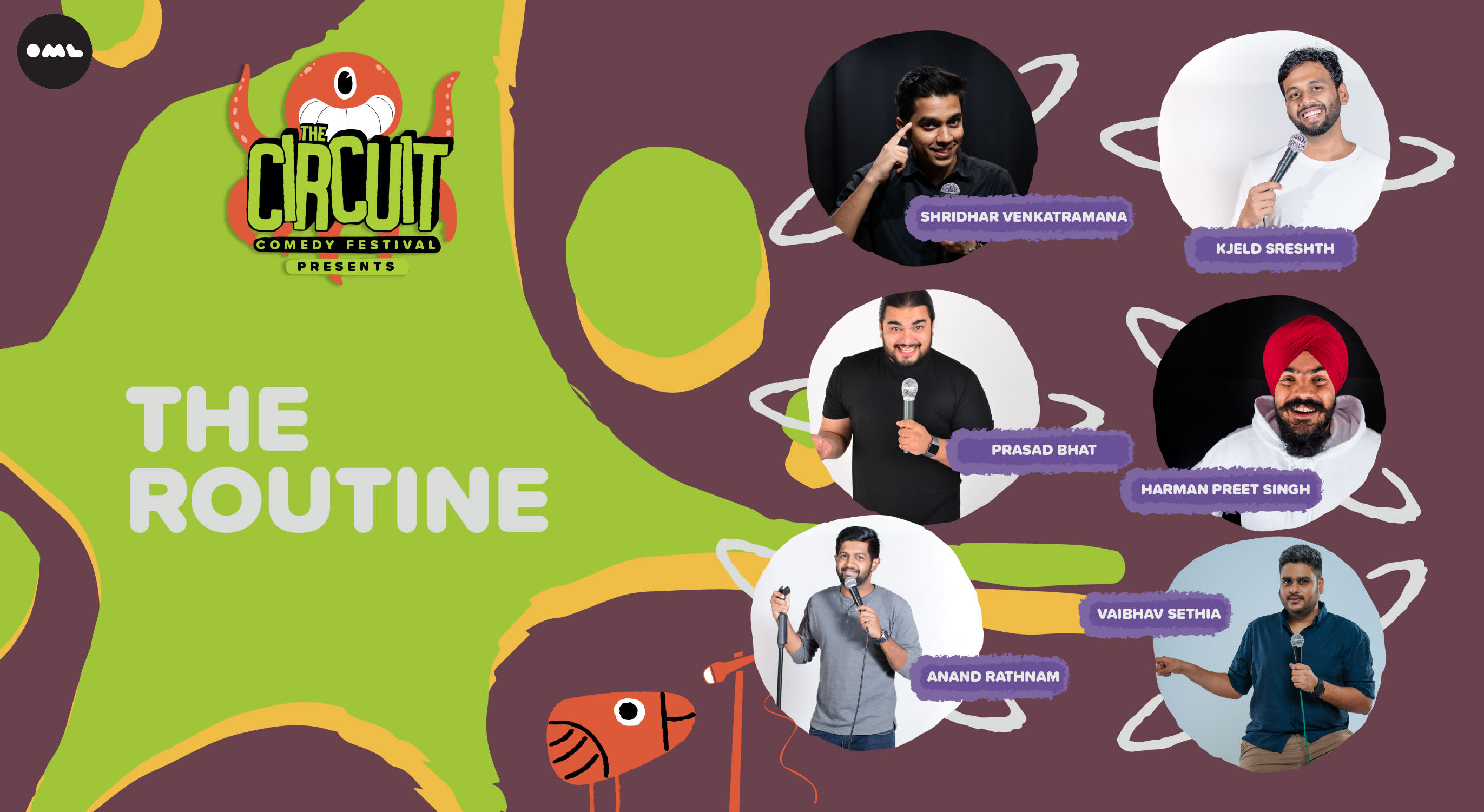 The Routine | The Circuit Comedy Festival, Bengaluru, Vapour Pub and Brewery