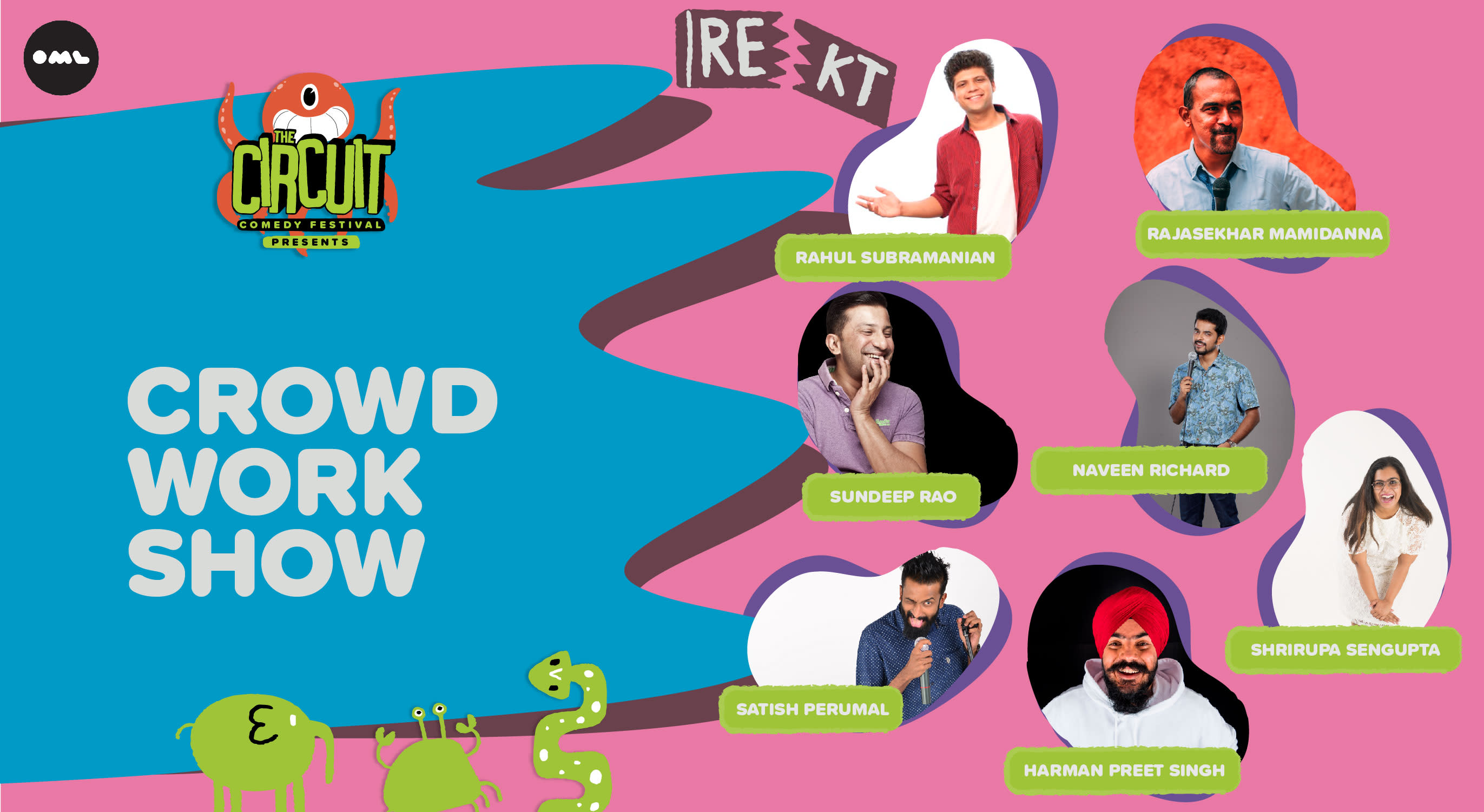 Crowd Work Show | The Circuit Comedy Festival, Bengaluru