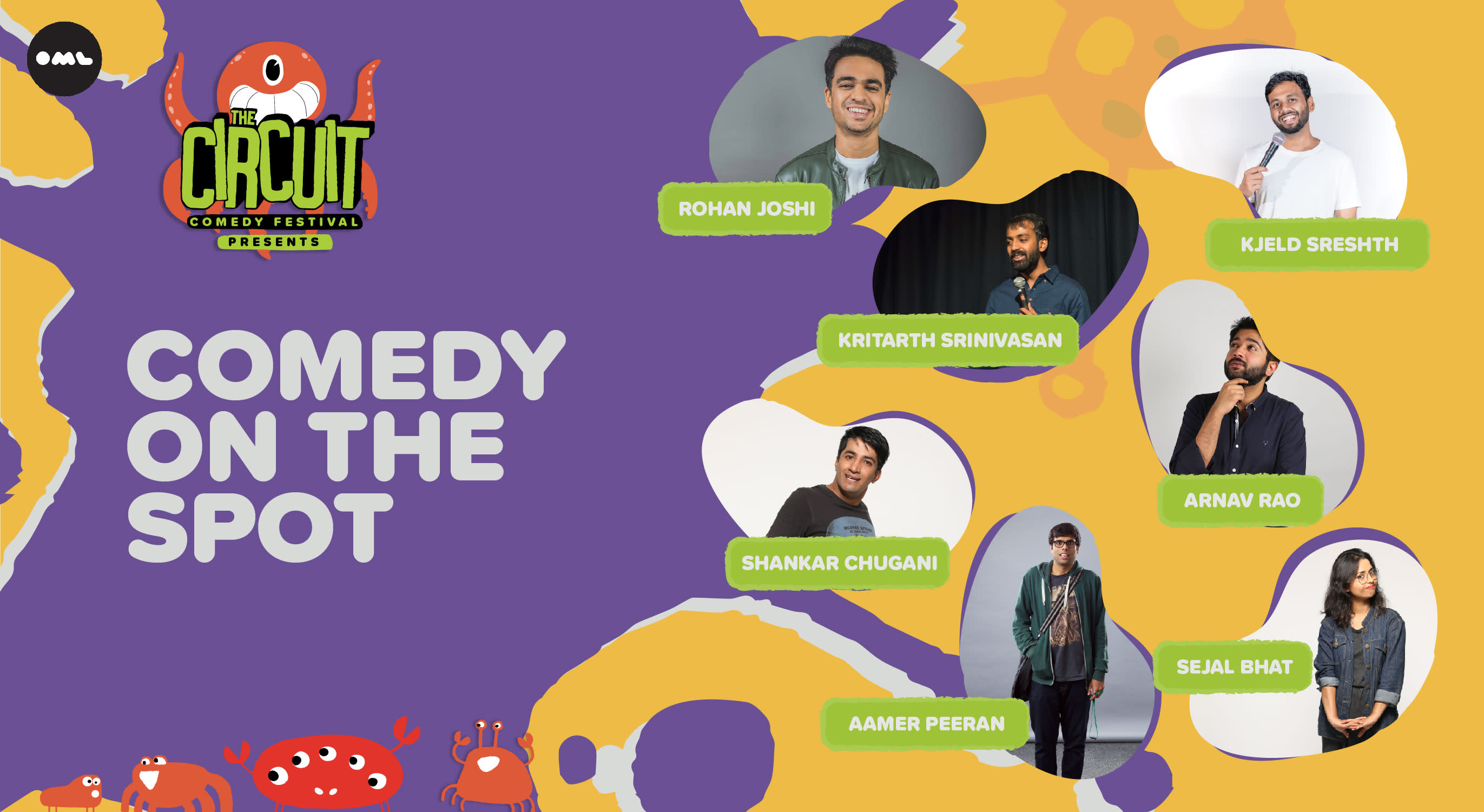 Comedy On the Spot | The Circuit Comedy Festival, Bengaluru
