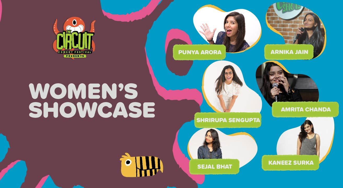 Women's Showcase | The Circuit Comedy Festival, Bengaluru