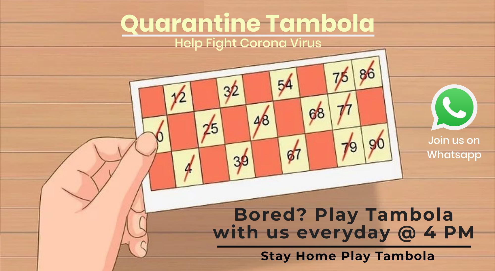 Quarantine Tambola