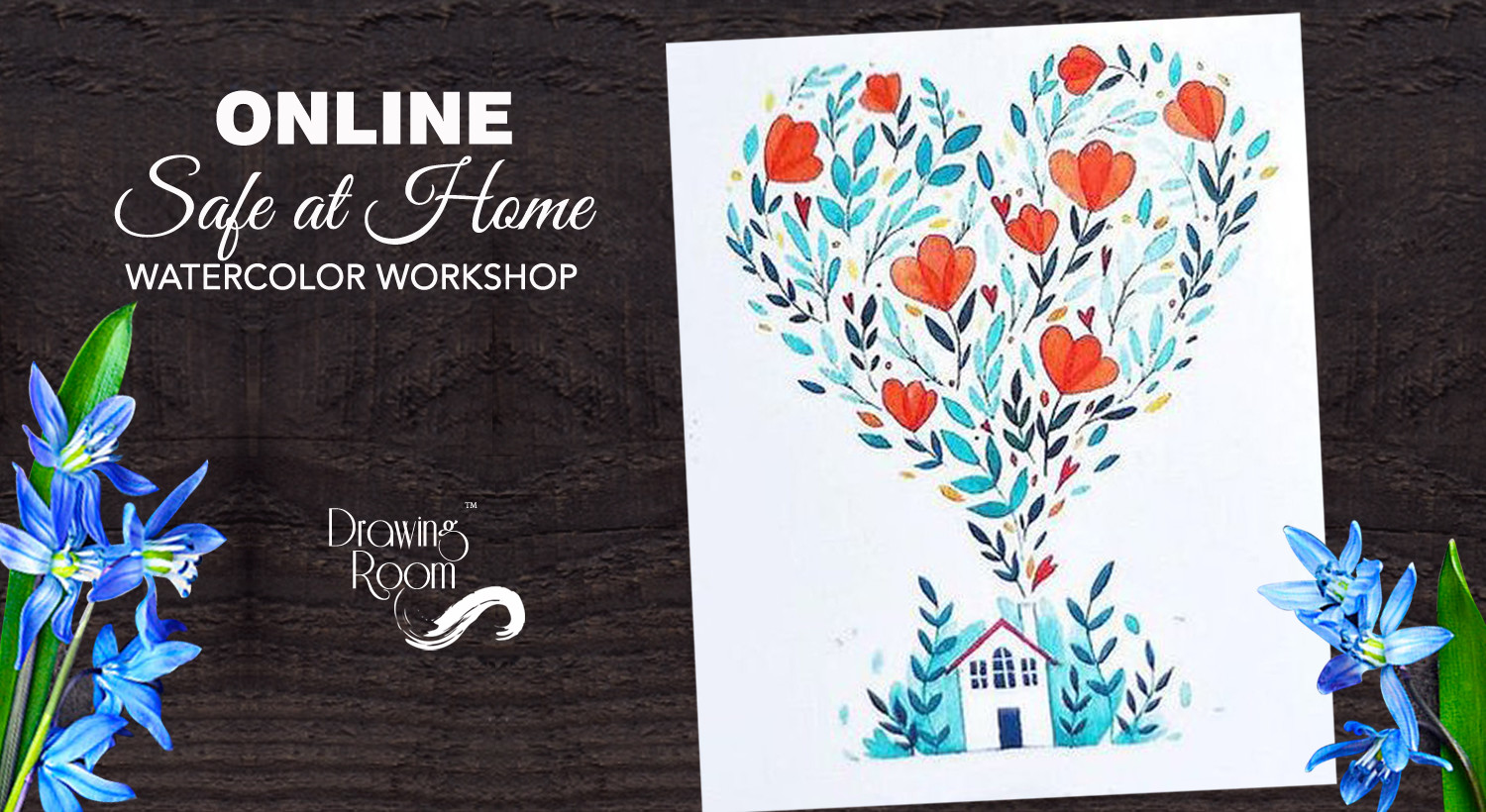 Book Online Safe At Home Watercolor Workshop By Drawing Room Apr 2020 Event Tickets Online Navi Mumbai Paytm Com