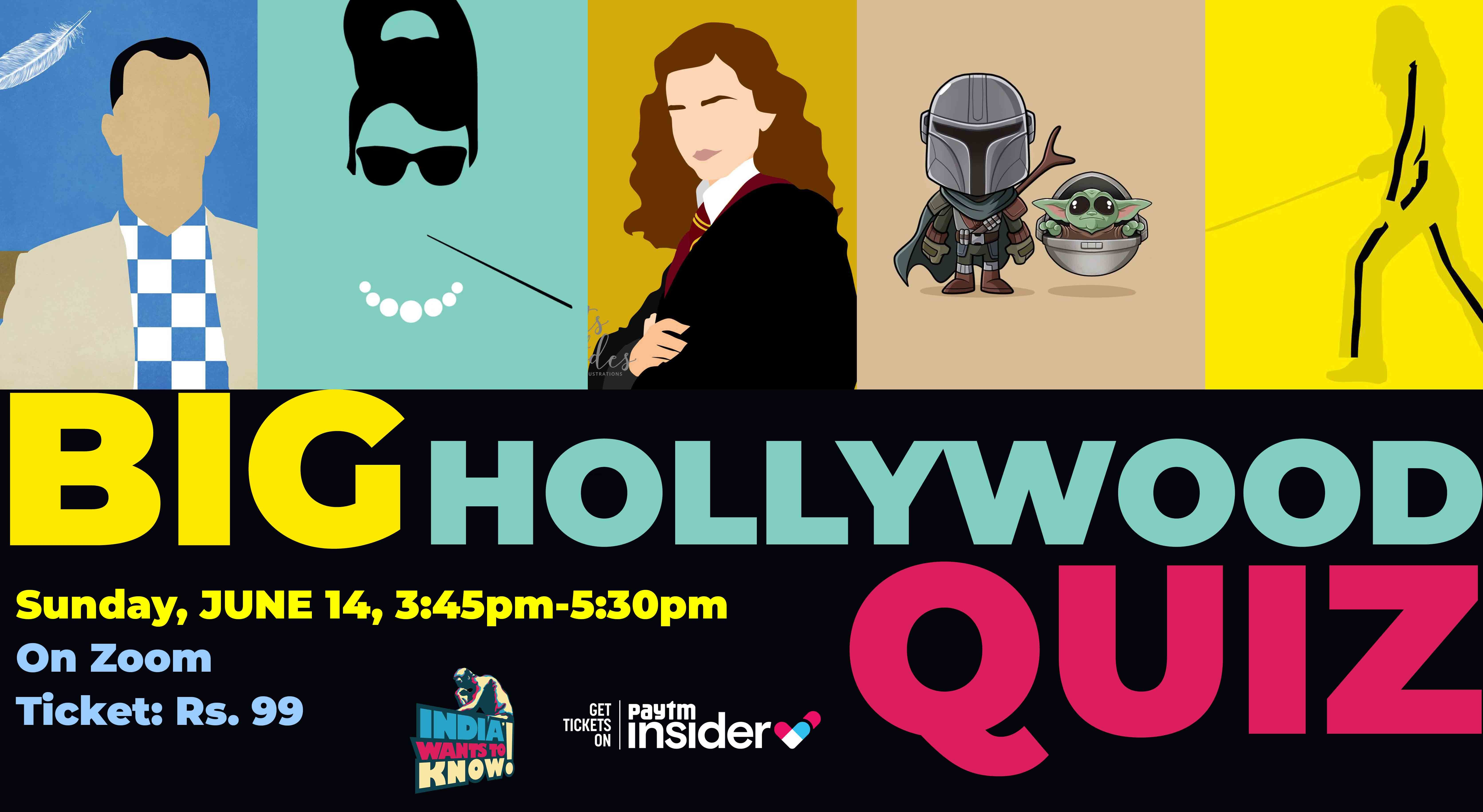 Photo of BIG HOLLYWOOD QUIZ : India Wants To Quiz for a Cause