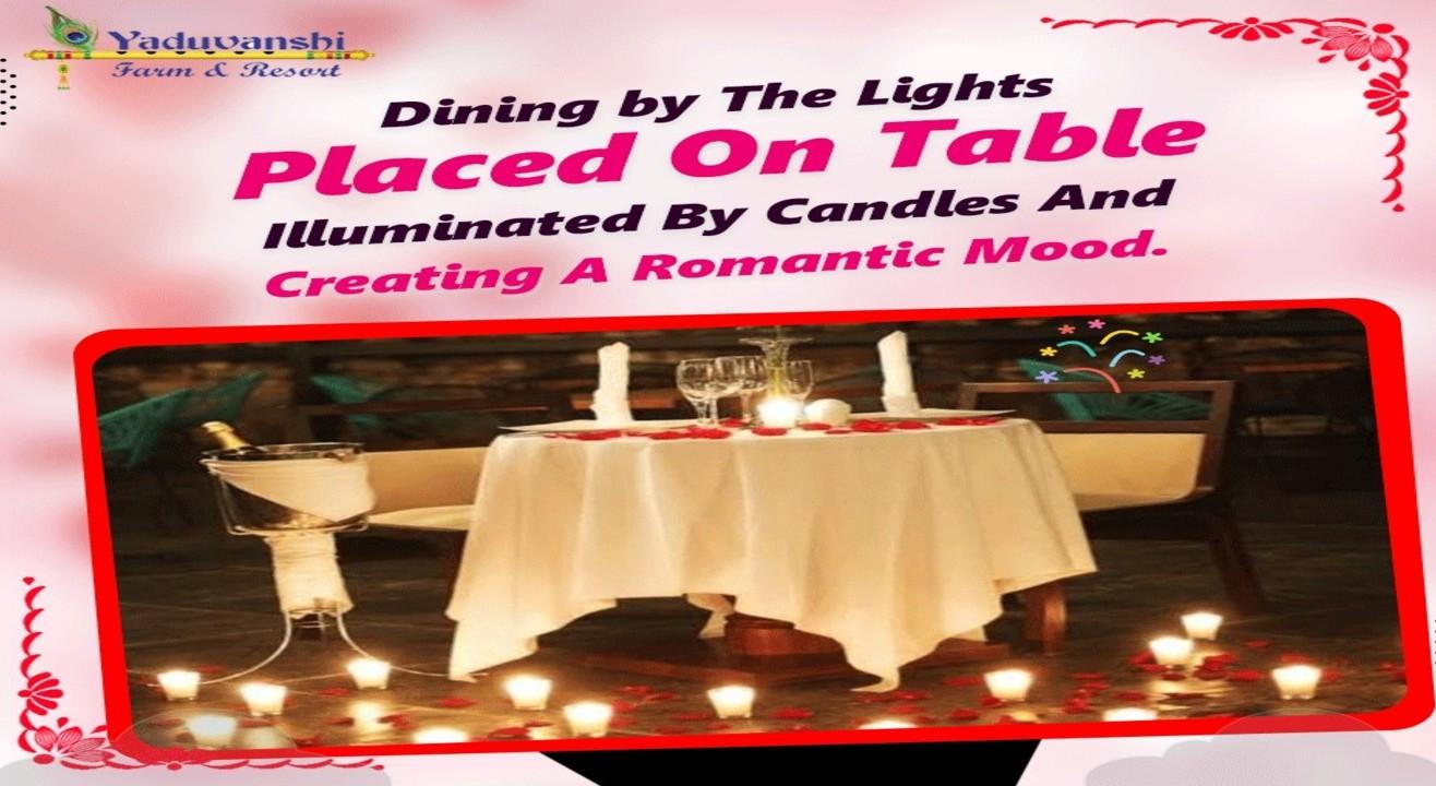 Dinner menu light candle ahmedabad Current Show